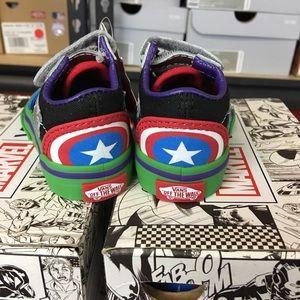ac3a666e944 Vans Shoes - Vans Old Skool V Marvel Avengers Multi Toddler
